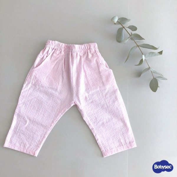 Pantalón Rayas Rosa